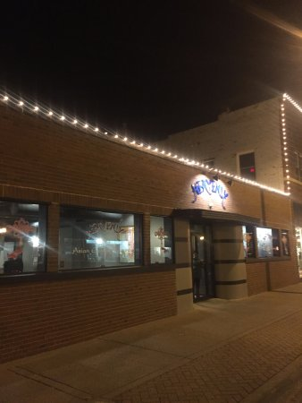 West Des Moines, IA: The front of the restaurant in Historic Valley Junction.