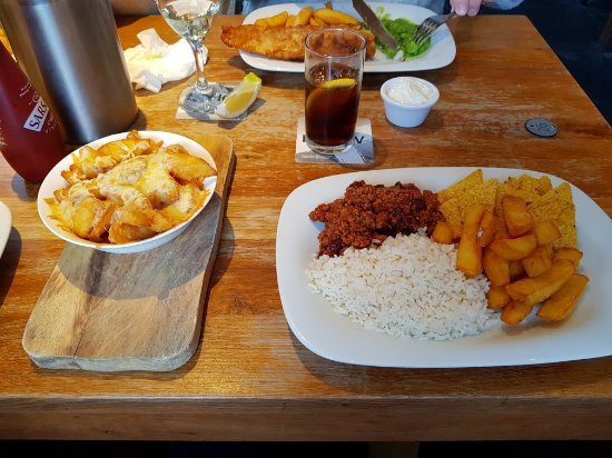 The Lifeboat Inn: Great food