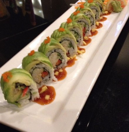 Wexford, Pensilvanya: Just one of our delicious sushi chef's fresh creations