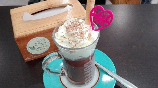 Abrantes, Portogallo: Maravilhoso chocolate quente