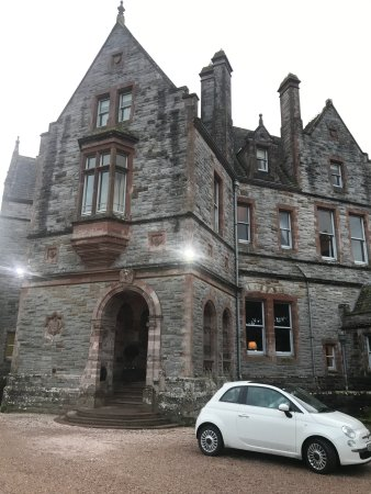 Glaslough, Irland: Castle entrance
