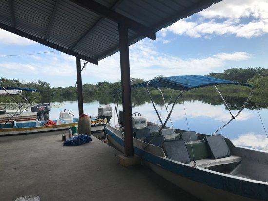 Belize District, Belize: Reyes and Son's docking area