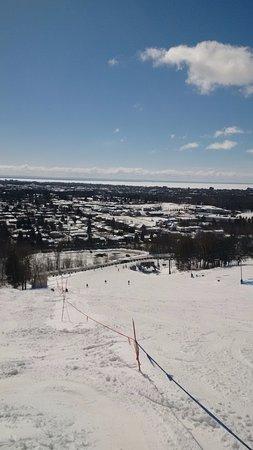 Laurentian Ski Hill: beautiful view