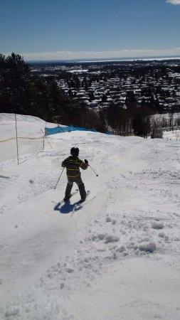Laurentian Ski Hill: nice mogul run