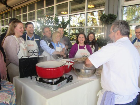 Round Pond Estate: Mozzarella Cheese Demo, Round Pond, Napa Valley