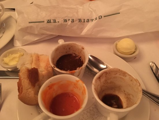 Mr. B's Bistro: Soup Trio