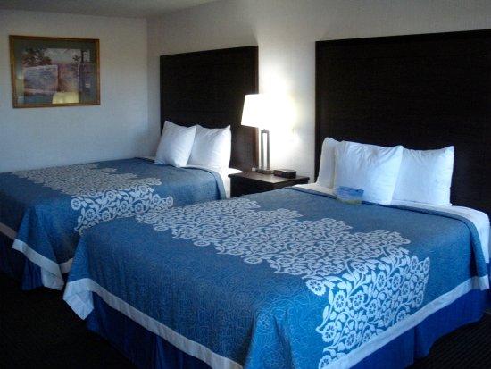 Panguitch, Utah: renovated bedroom , room 127