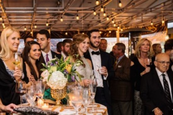 Wolfgang's Restaurant & Wine Bistro: Fun welcome party of 150 guests