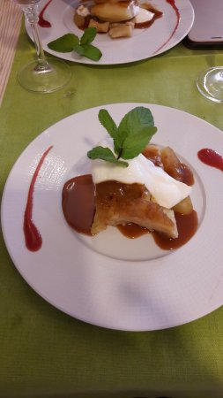 Saint Cyr l'Ecole, Γαλλία: Excellente tarte tatin