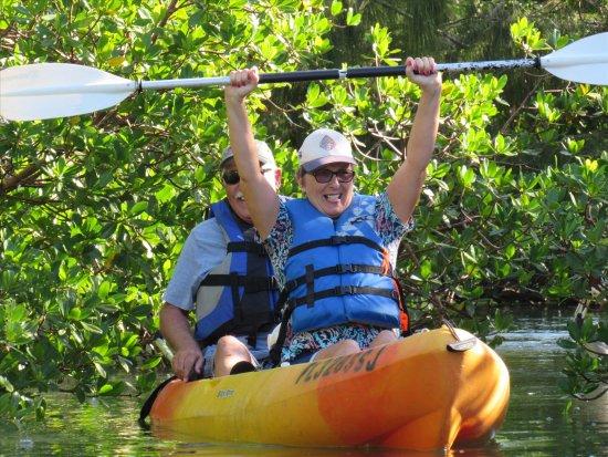Fort Pierce, FL: Made it through the mangroves