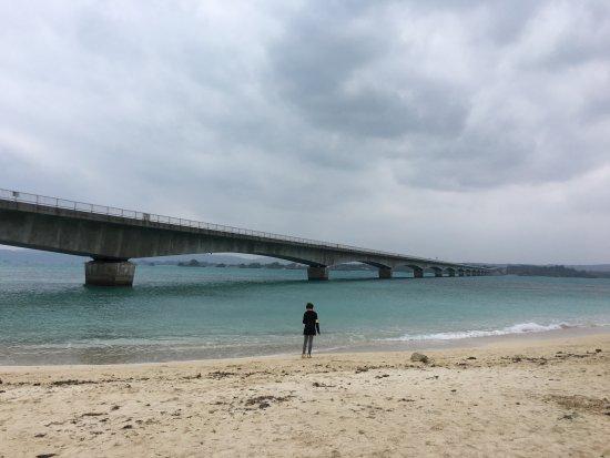 Nakijin-son, Giappone: Kouri Bridge