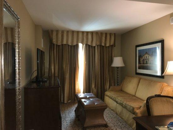 Embassy Suites by Hilton San Antonio Riverwalk-Downtown: Living area