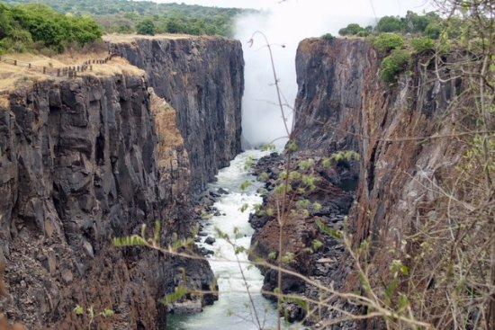 Victoria Falls, Zambia: Zim side