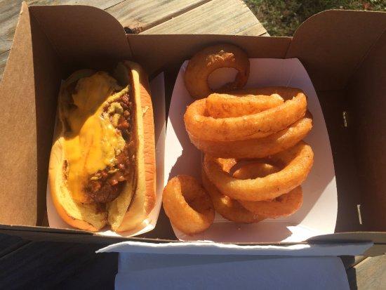 Zawack Shack - 'Shack Dog' & Onion Rings, Ridgefield CT