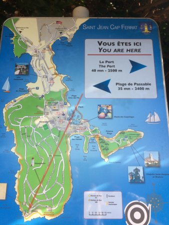 Plan du Cap - Picture of Saint Jean-Cap-Ferrat Hike, St-Jean-Cap ...
