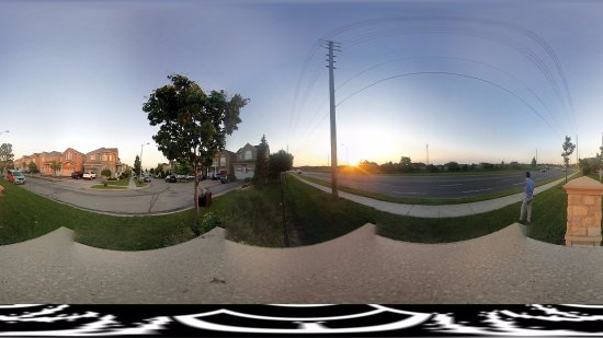 Concord, Kanada: 360 Sunset view from outside of Vaughan Mills.