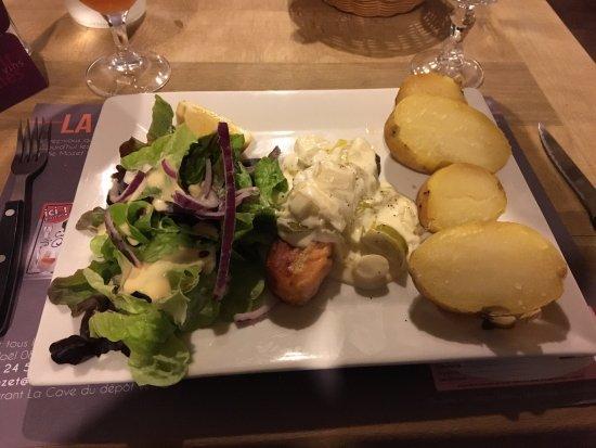 Saumon sauce aux poireaux photo de restaurant la cave du d p t vente charleville mezieres - Poireaux a repiquer vente ...