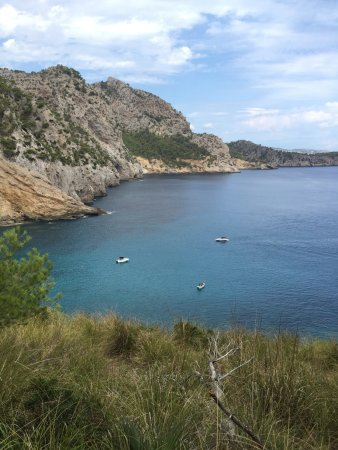 Playa Coll Baix: vue sur coll baix