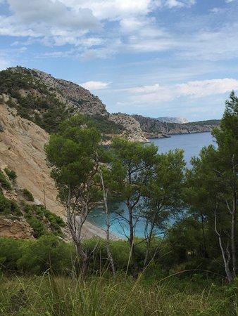 Playa Coll Baix: superbe vue sur coll baix