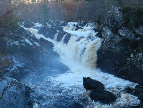 Contin, UK: Rogie Falls