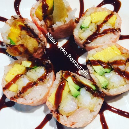 Mitsu neko fusion cuisine and sushi bar branson for Asian fusion cuisine and sushi bar