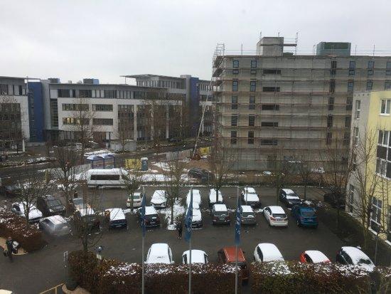 Raunheim, Almanya: Aussicht aus dem dritten Stock Zimmer 707 :-)