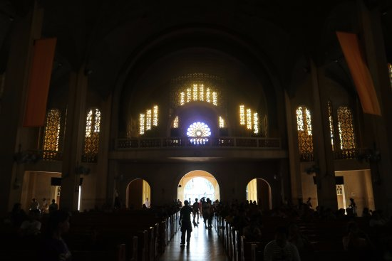 Redemptorist Church - National Shrine of Our Mother of Perpetual Help: Church exit