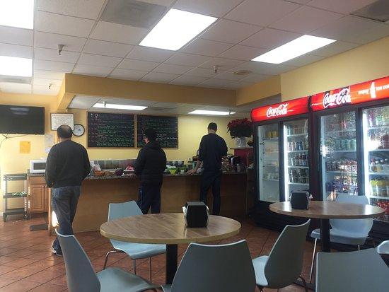 Los Gatos, CA: Order at counter
