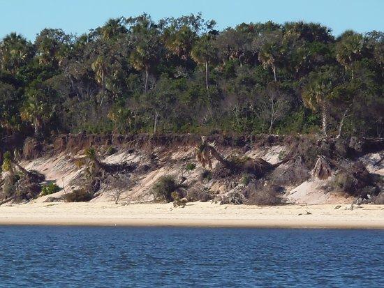 Cedar Key, فلوريدا: Damage from hurricane Irma