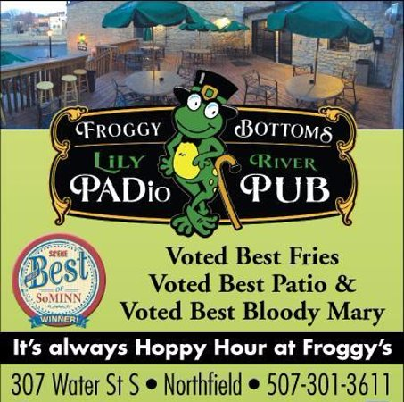 Northfield, MN: Nominated and WON. BEST: French Fries, Patio, Bloody Mary's & Happy Hour in Southern MN 2015-201