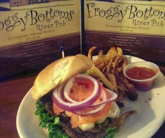 Northfield, MN: Hand pattied Burgers, Several Wraps, etc served with AWARD WINNING hand cut fries!