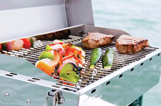 305yachting Inc Bbq Grill On Board