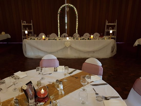 Myrtleford, Australia: Bridal Table