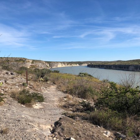Comstock  Val Verde County, TX: Beautiful Canyon and views of the Rio Grande