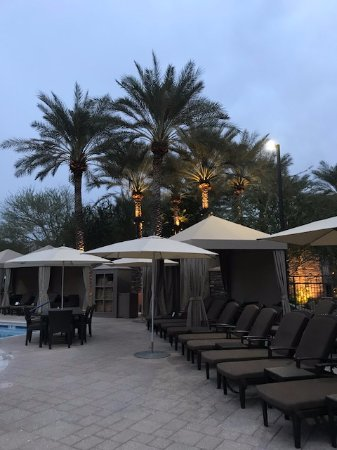The Westin Kierland Villas: Pool Cabanas And High End Lounge Chairs