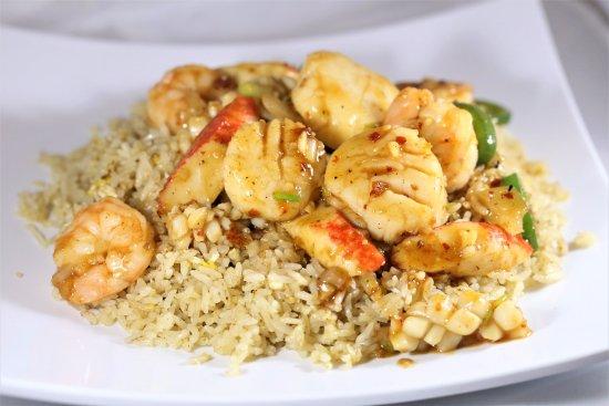 Lisle, IL: Malaysia Baked Seafood Rice