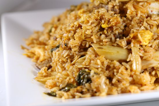 Lisle, IL: Korean Kimchi Style Fried Rice