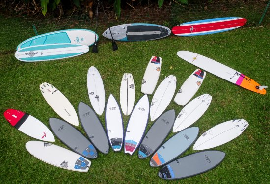 Kilauea, Гавайи: Kauai Surfboard Rentals. Al Merrick, Firewire, Hypto Krypto, Pyzel and Many More