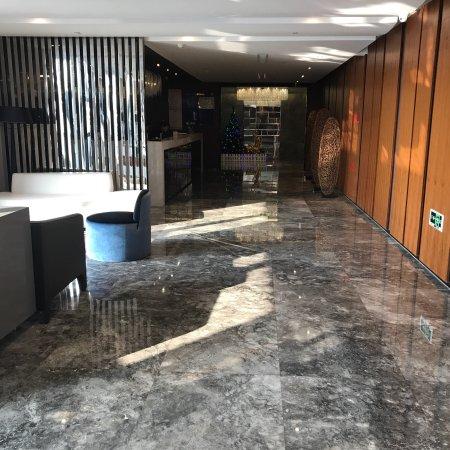 Zhuji, China: Lobby area