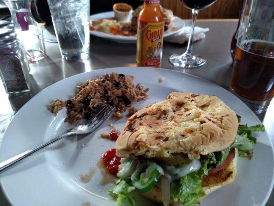 Irwin, PA: My half eaten Burger
