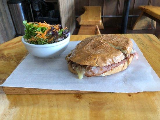 Burnsville, NC: Our Tortas (sandwich) Billy the Cuban