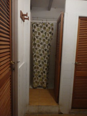Puig de Pollença: Shower facilities - clean and well maintained