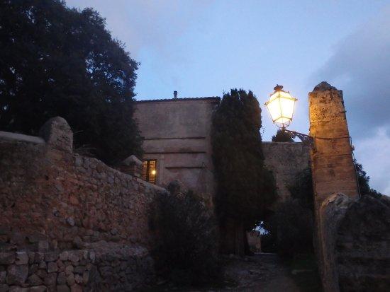 Puig de Pollença: Night falls