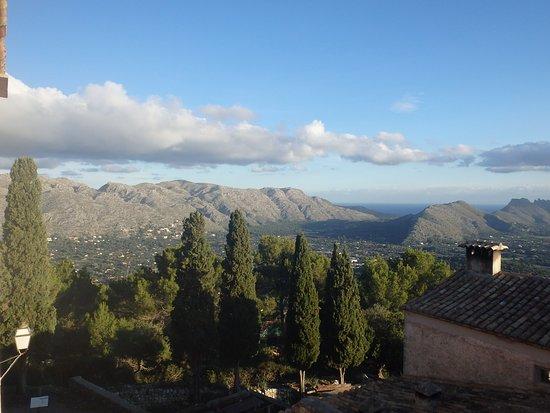 Pollença, España: Morning view from room