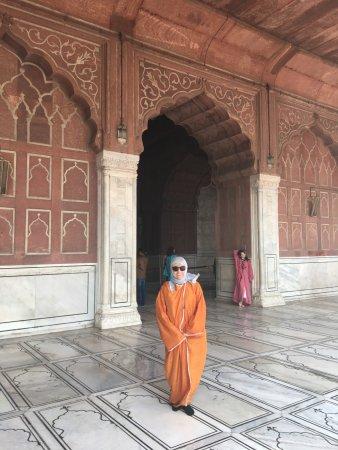 Jama Masjid: Nice outfit !