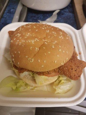 Redruth, UK: Great chicken burger