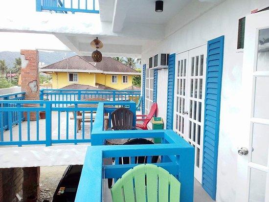 Bluecoco Baler Beach House 2nd Floor Veranda