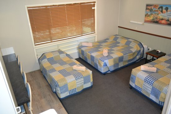 Barcaldine, Australië: family room at our cheaper accommodation section