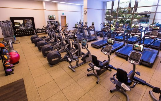 Hilton San Diego Bayfront: Health club