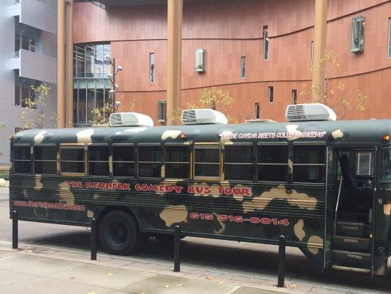 Comedy Bus Tour Debver